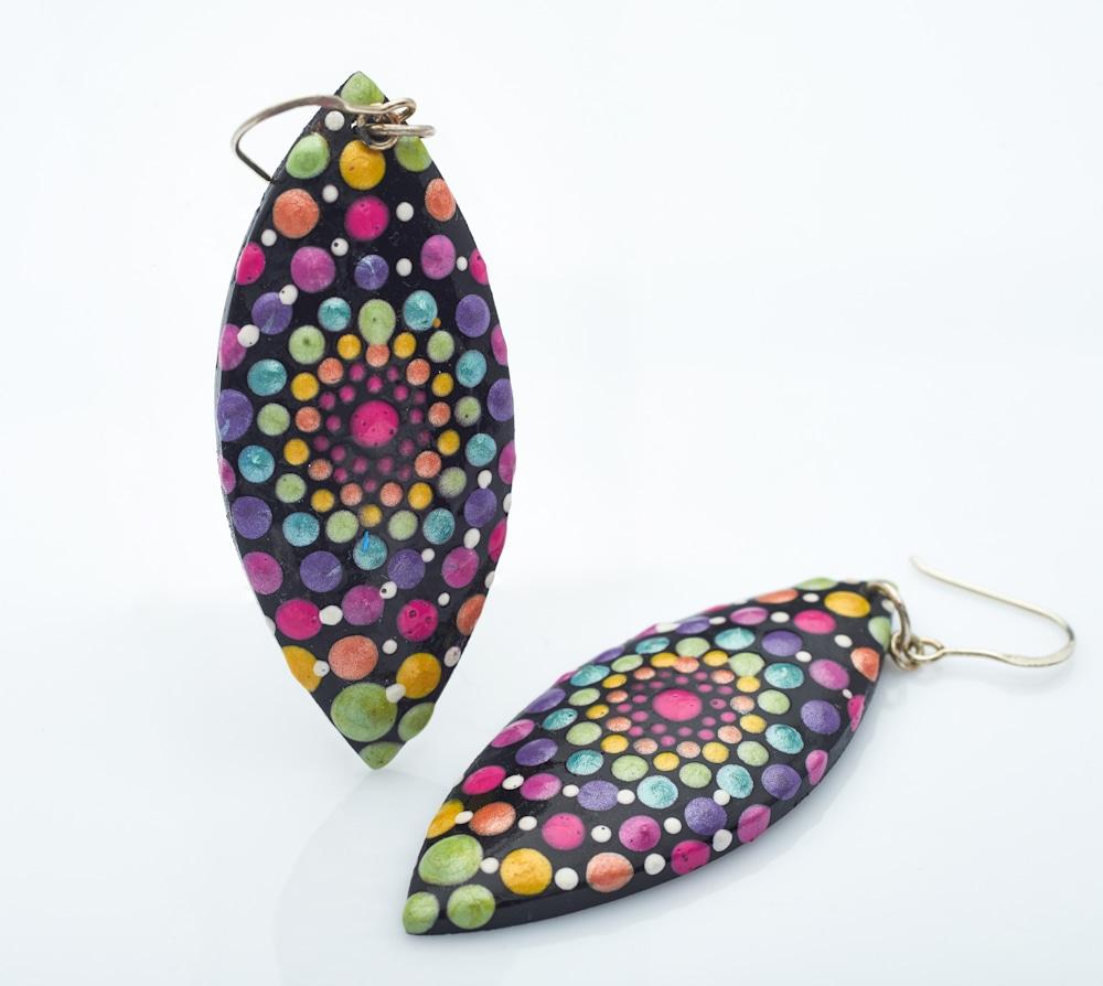 12A   Leaf Earrings (C)