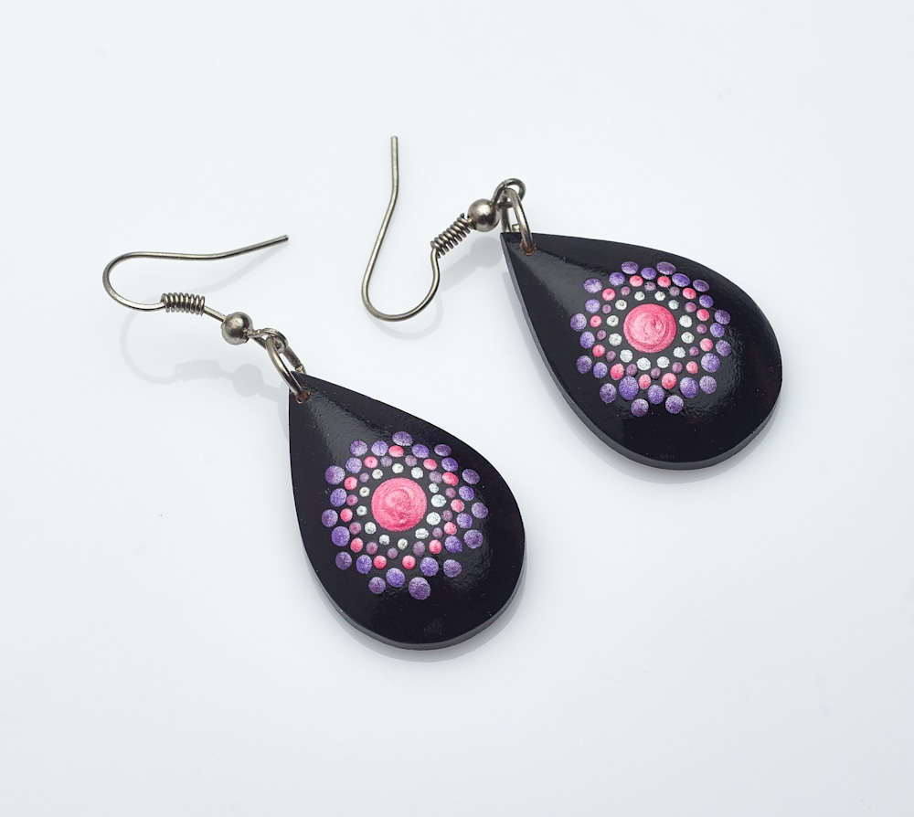 15   Mini Drop Earrings (C) SOLD