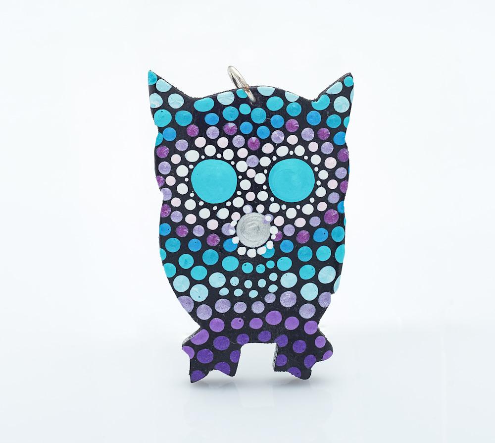 34A   Kid Owl Pendant