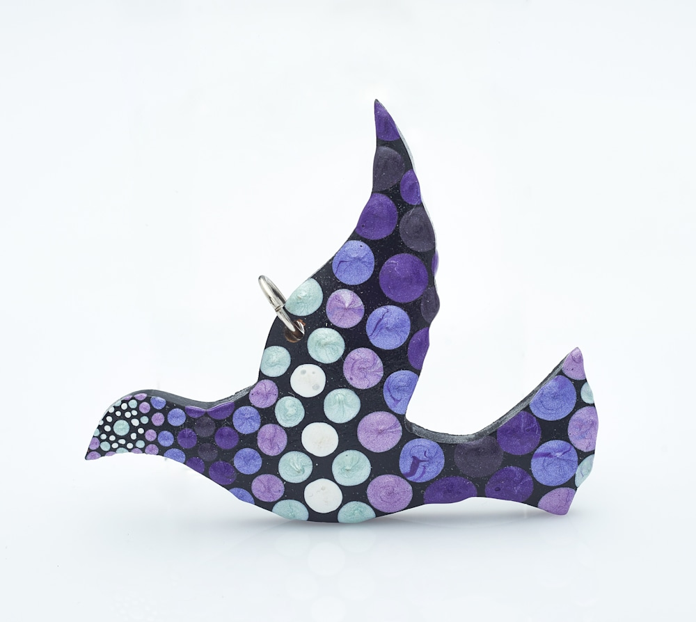 37A   Adult Flying Bird Pendant