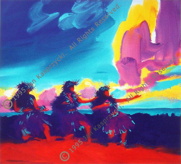 Red Dawn Hula gic wC