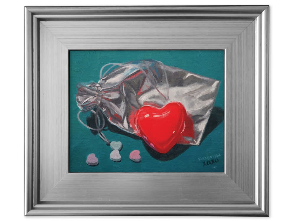 abbey fitzgerald have a heart framed