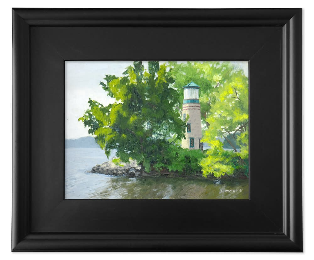 abbey fitzgerald overgrown deluxe black frame 9x12