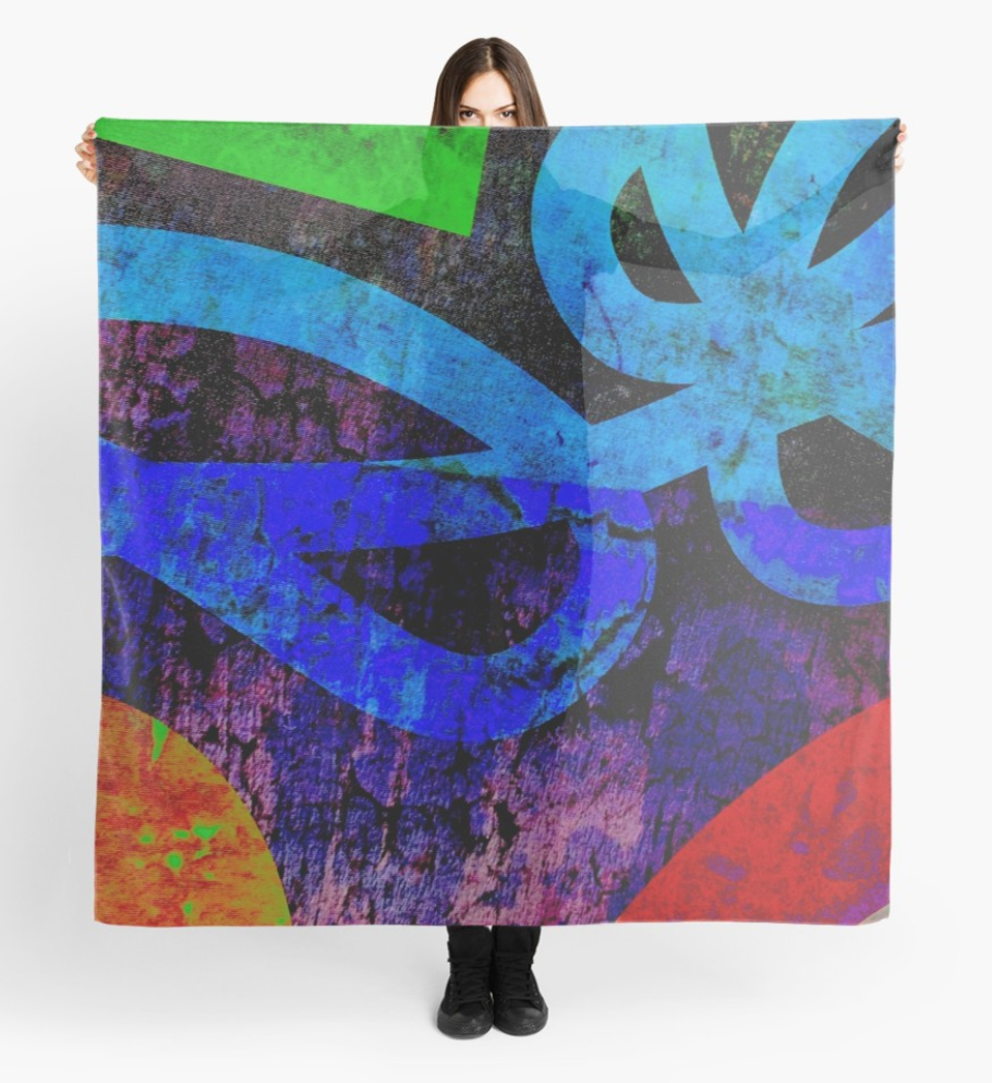 Abstract Bold Scarf