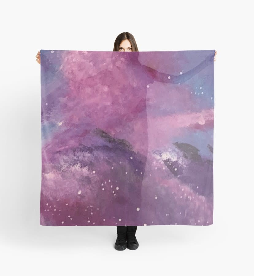 Space Volcano Scarf