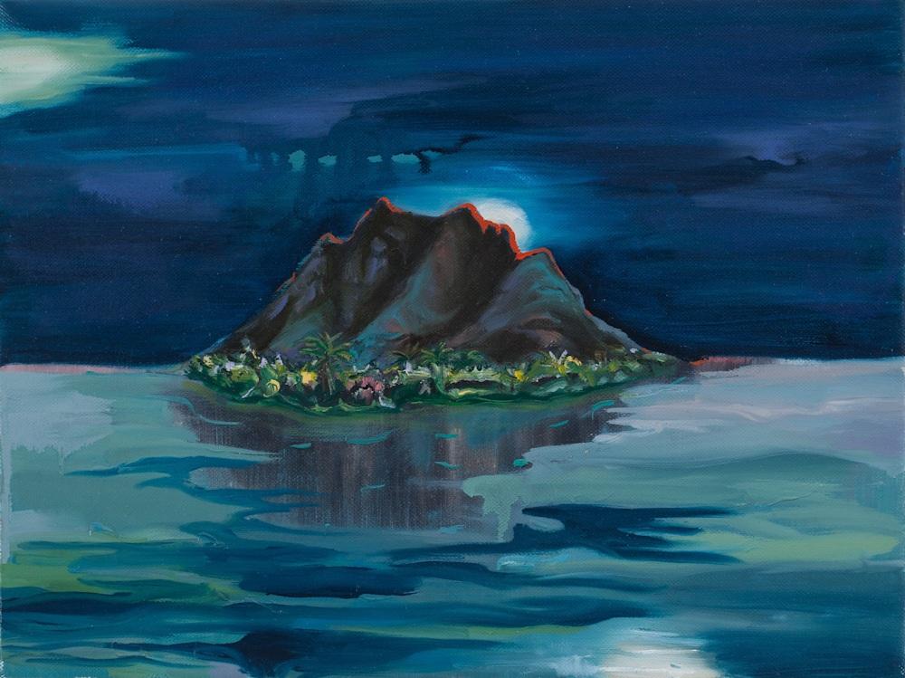 two moon island