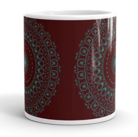 Deep Healing Mandala Art Mug C