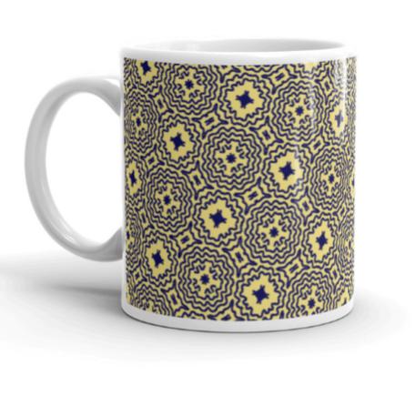 Mellow Yellow Mandalas Mug C