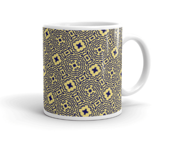 Mellow Yellow Mandalas Mug L