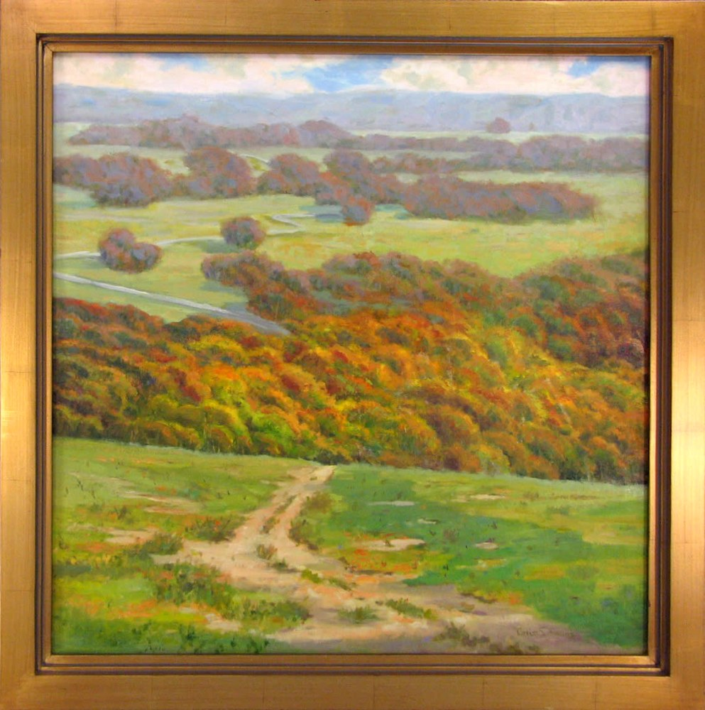 Virginia Grass Simmons   Wrapped in the Highland   Oil   20 x 30   2500