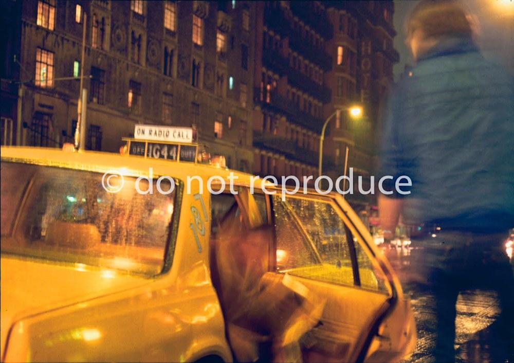 Chelsea Taxi in Rain