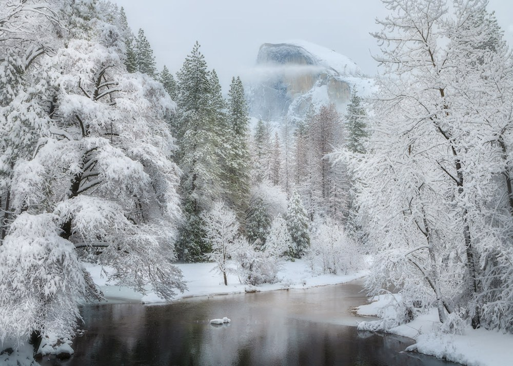 When It Snows In Yosemite