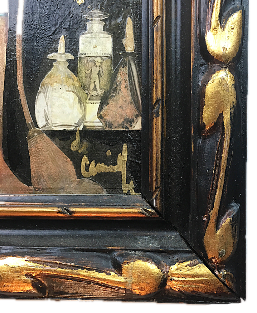 Art Nouveau Paris frame