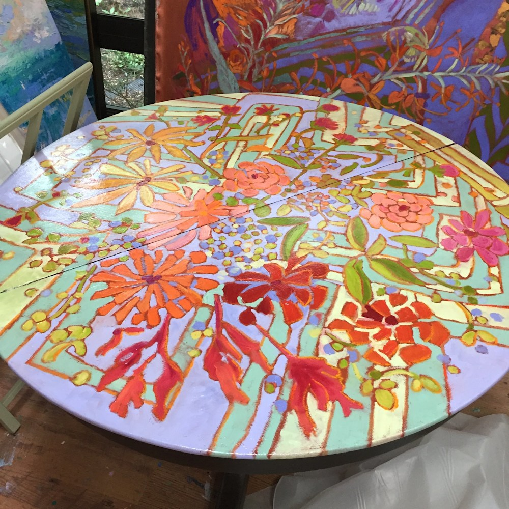 handpaintedtable