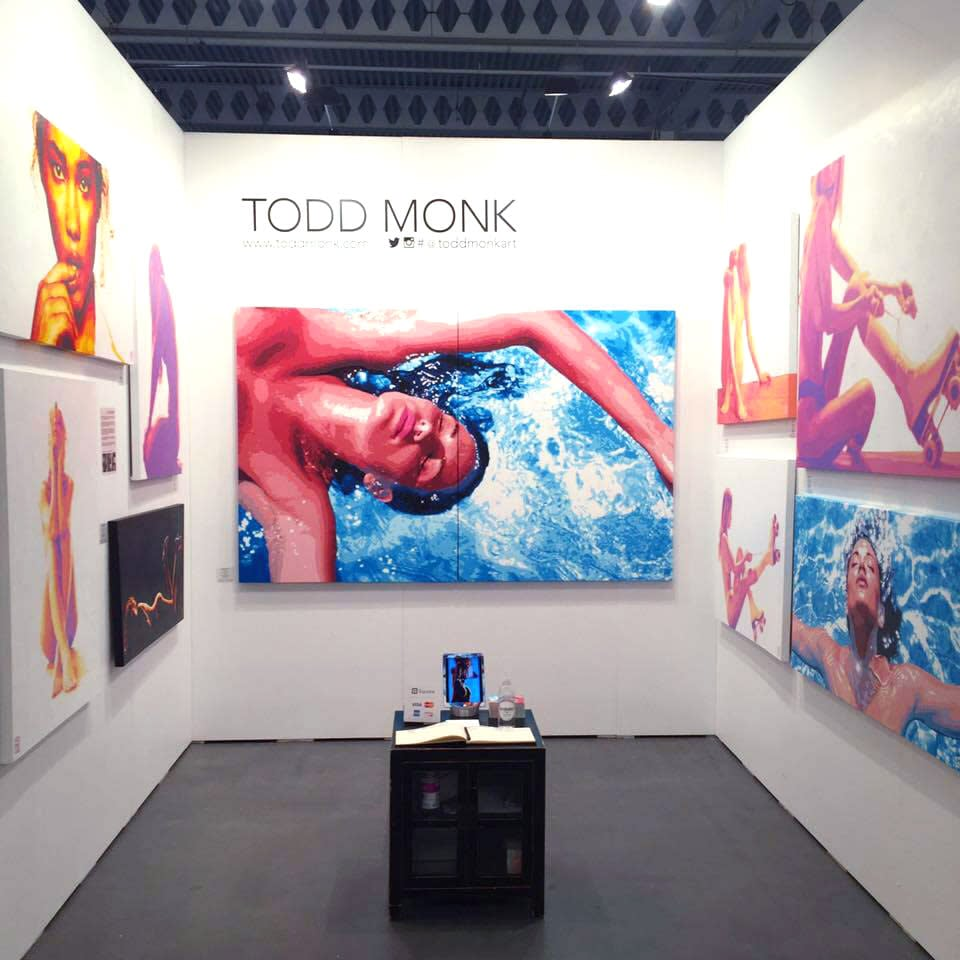 TODD MONK TAP BOOTH 2017