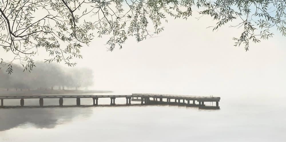 Gedye Pier Into The Mist 1000