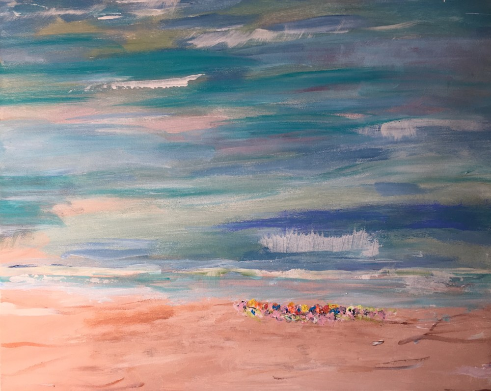 Beach Kids II 20x16x