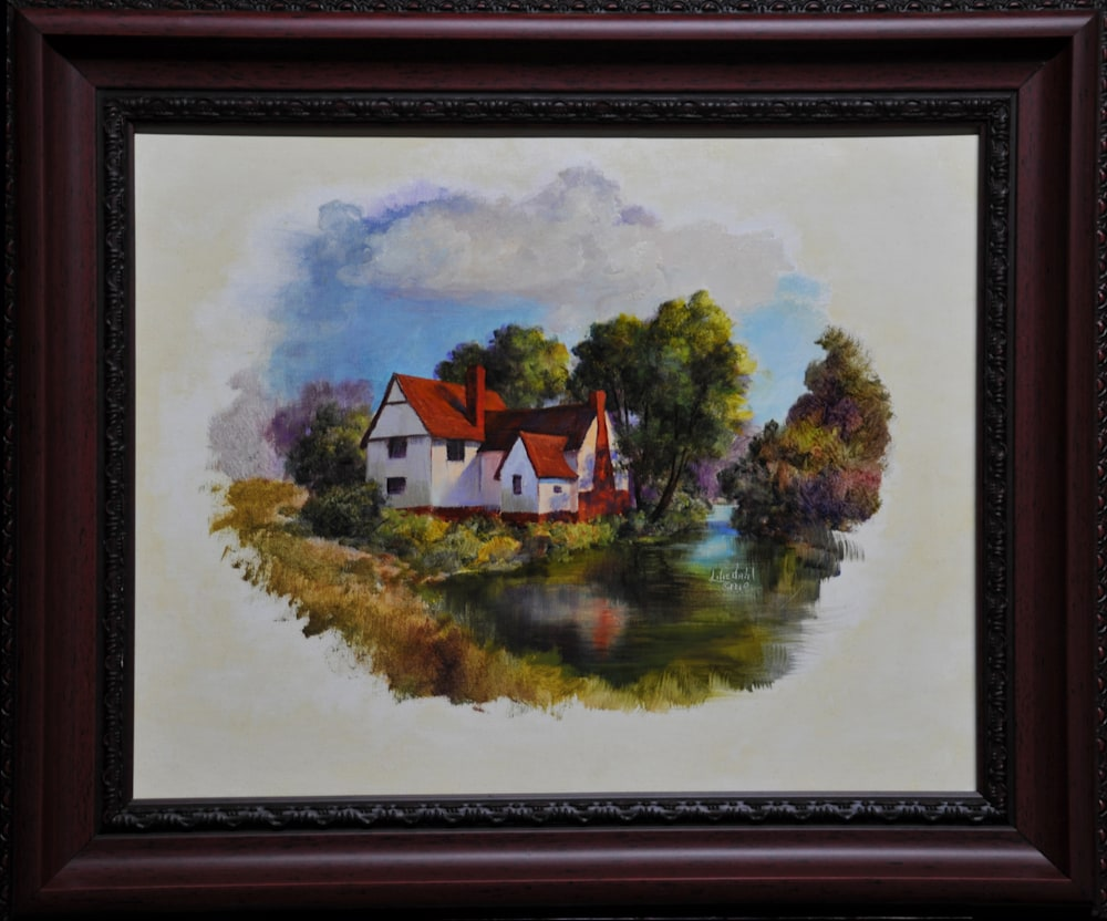 Willie Lott's Cottage Framed