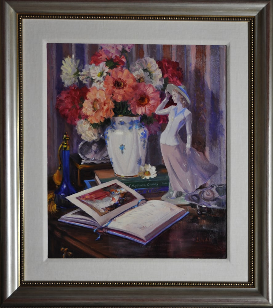 Love in Bloom Framed