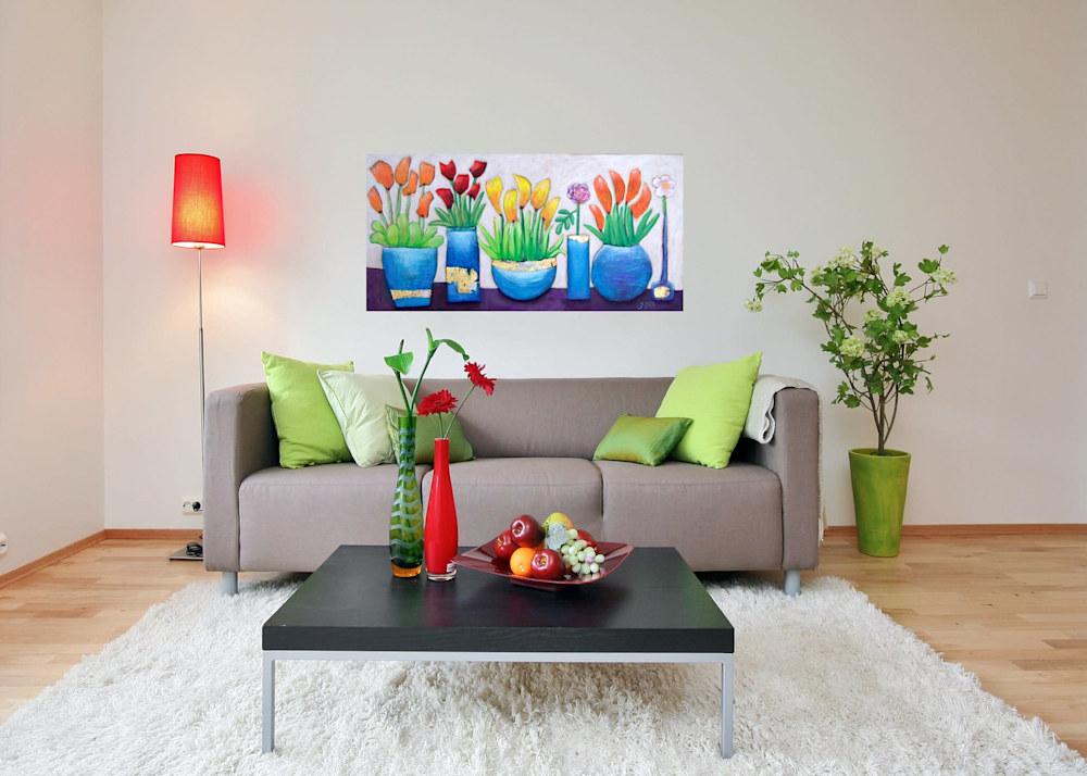 quartet of color interior