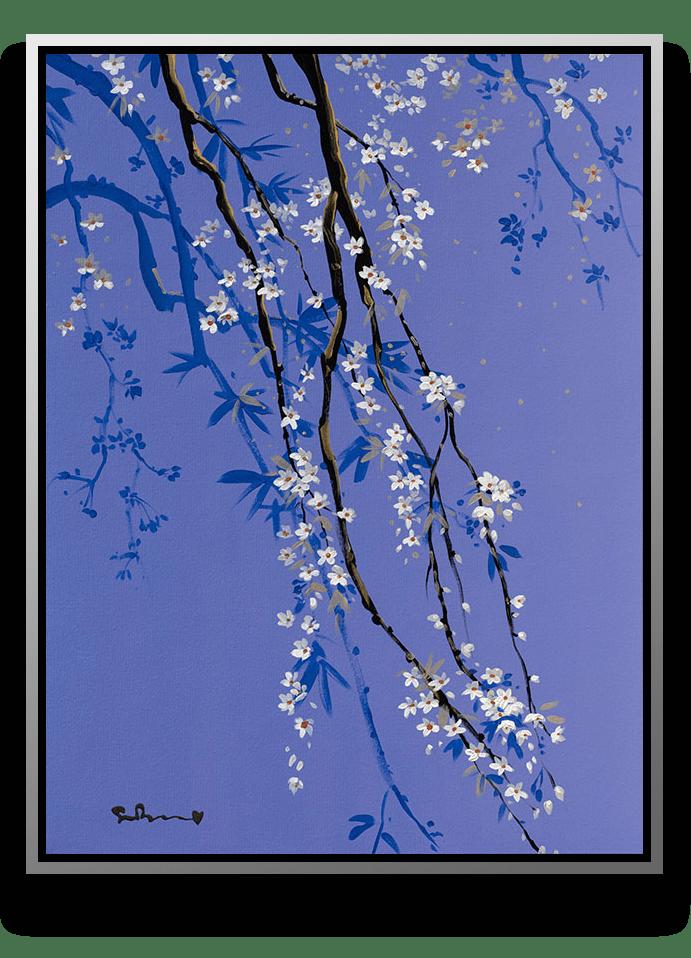 Lavender + Lace framed