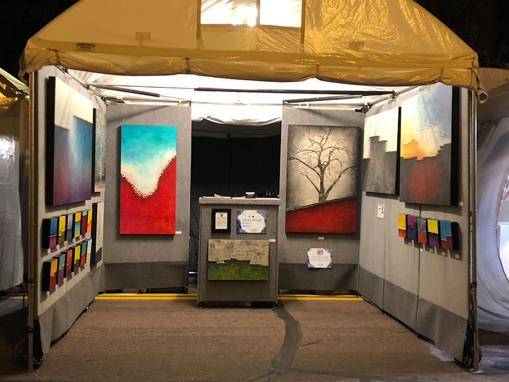 Safe and Sound in Booth at St. Louis Art Fair