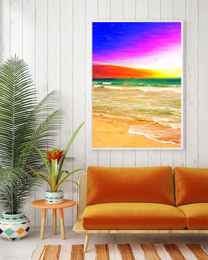 Kailua Beach Sunrise Hanging on Wall