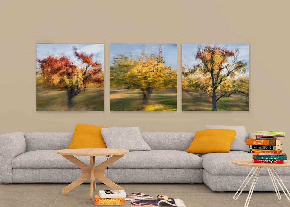 free modern livingroom mockup
