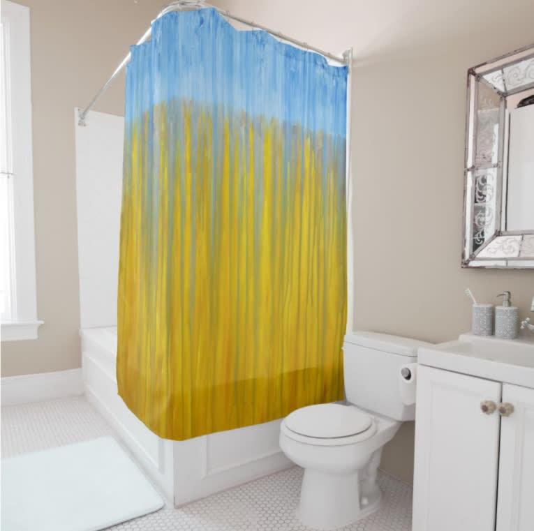 ShowerCurtain Wheatfield