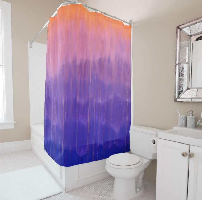 ShowerCurtain PurpleMtRain2
