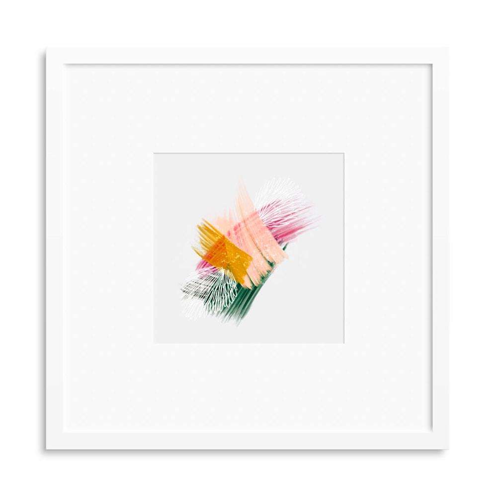 mini no3 5x5 white frame mat