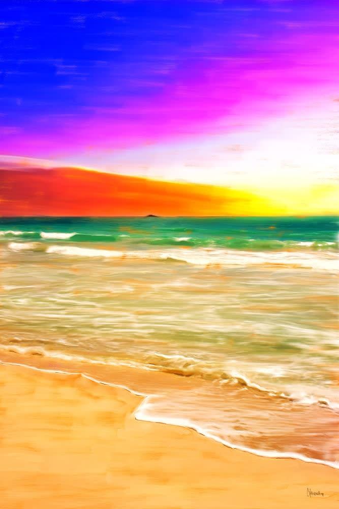 Kailua Beach Sunrise mini