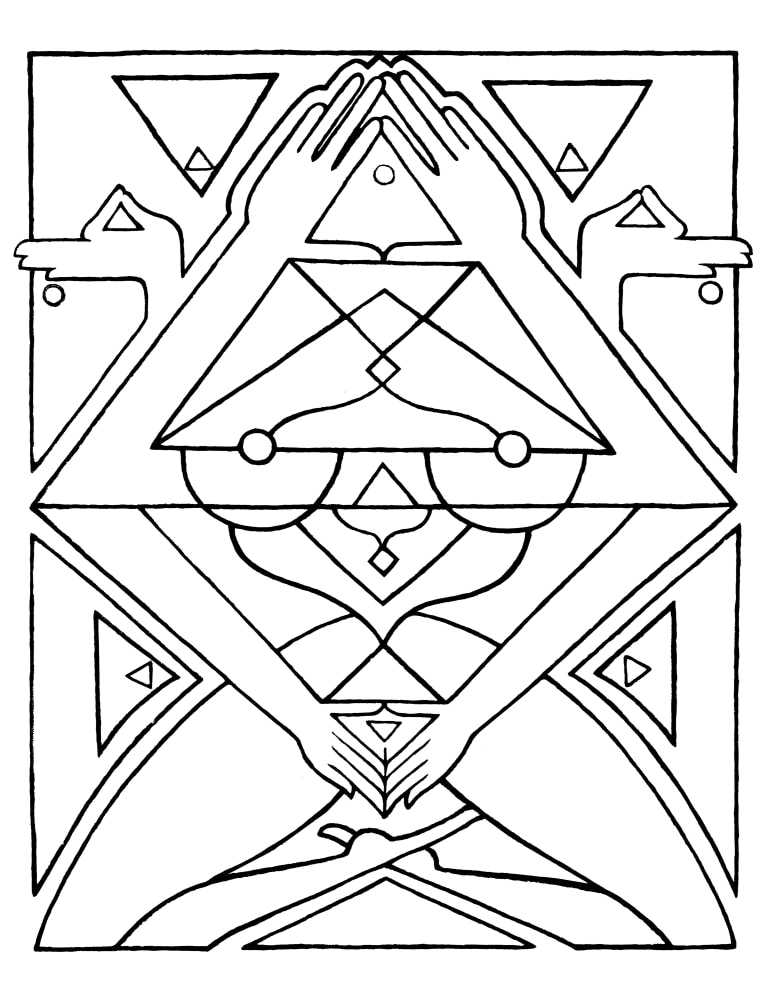 I Am That I Am  coloring page 8