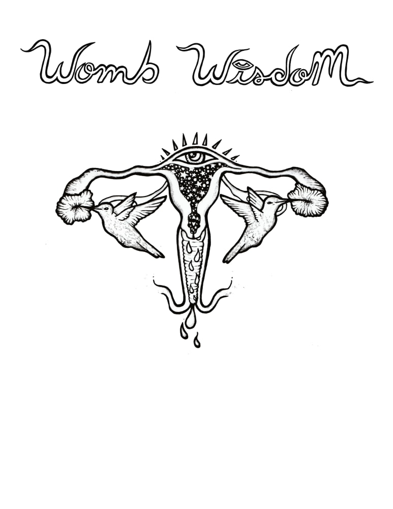 Womb Wisdom   Coloring Page
