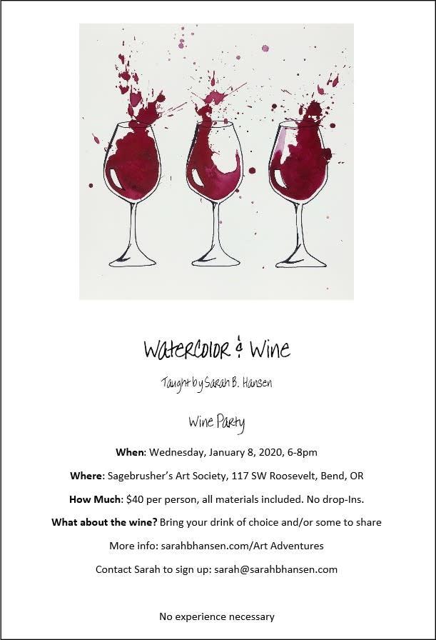 Wine Party Brochure