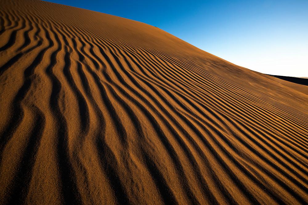 red dunes ripple