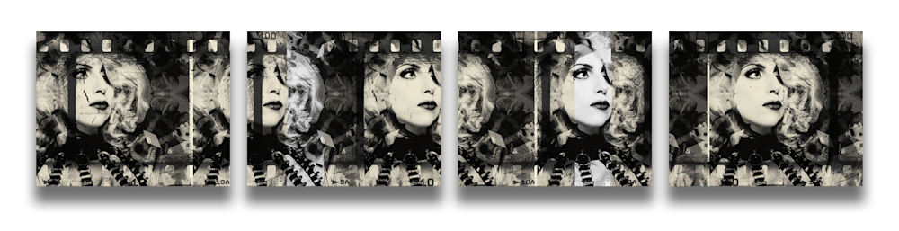 lady gaga quadtych