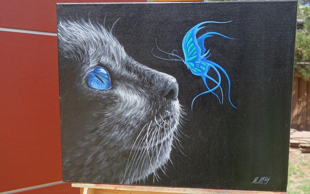 Mystical Cat Front