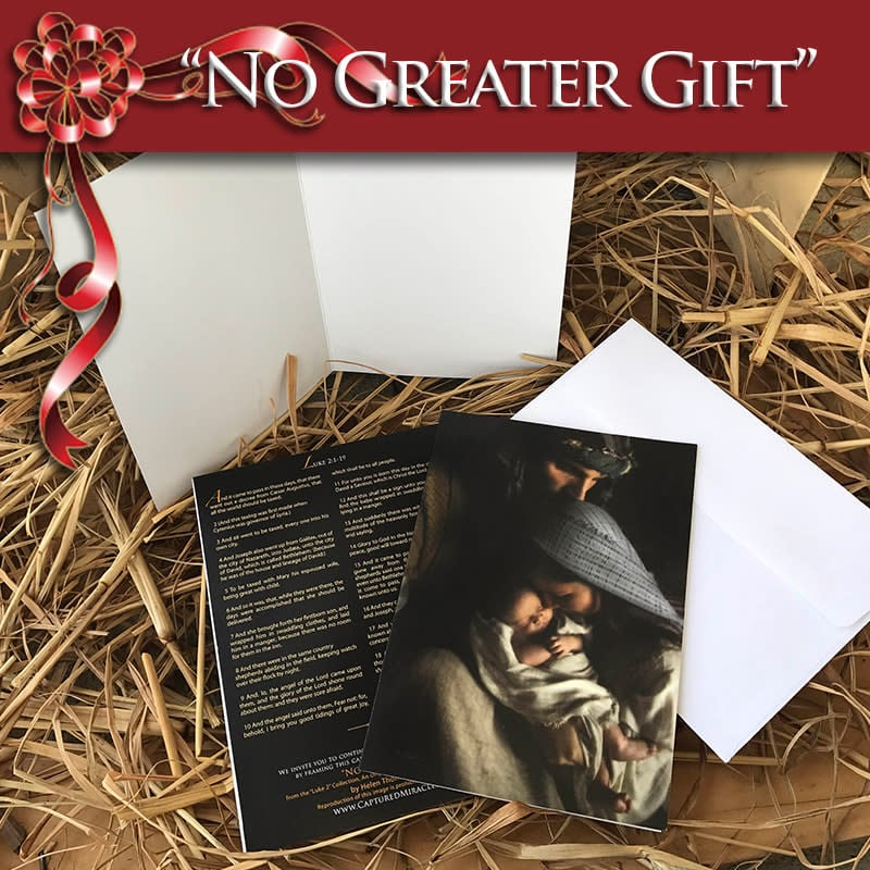 Greeting Card No Greater Gift web