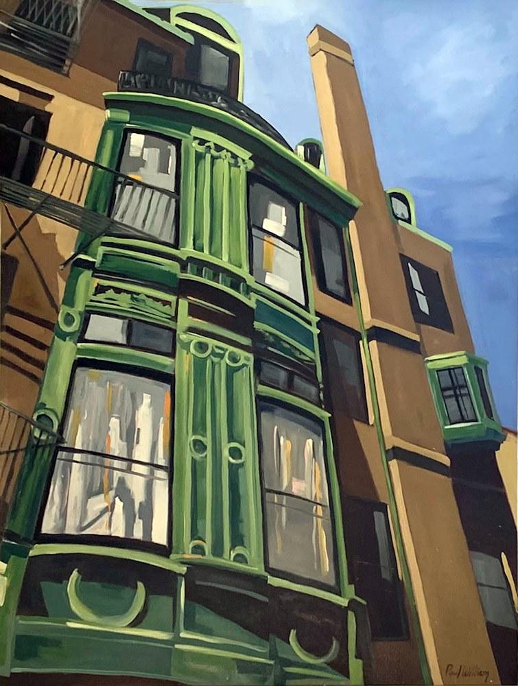 Sunlight on Fairfield Street by Paul William artist