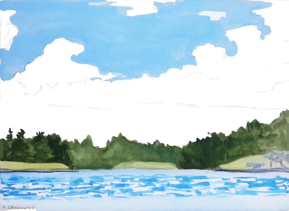 Lake Day  print