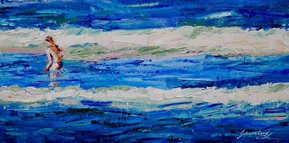Debra Schaumberg One with the Sea Original