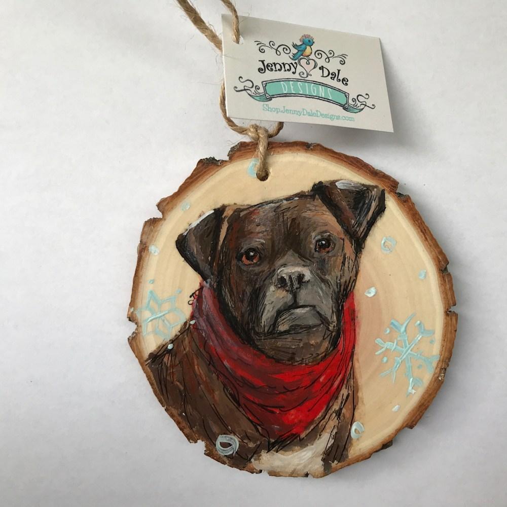 Jenny Dale Designs Pet Portrait
