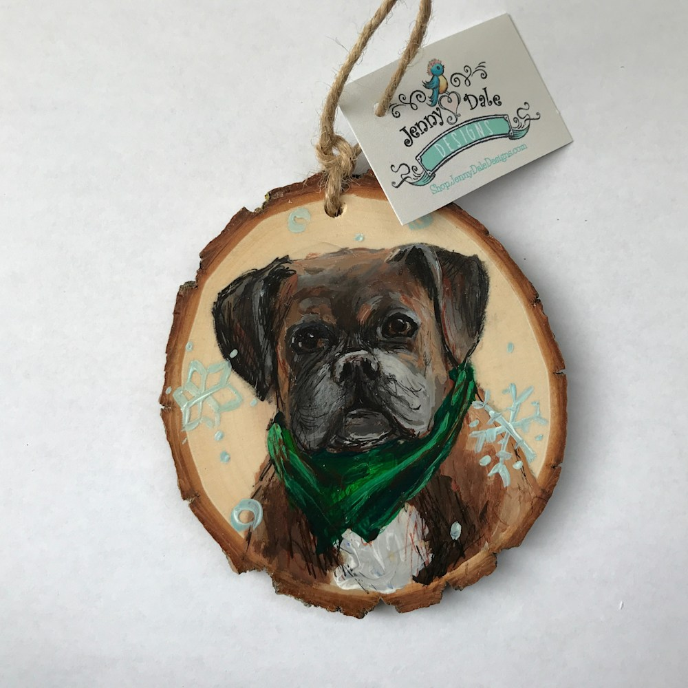 Jenny Dale Designs Pet Portrait 2