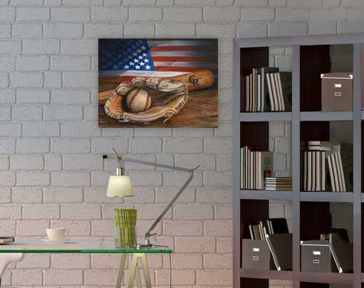 Virtual American Pastime
