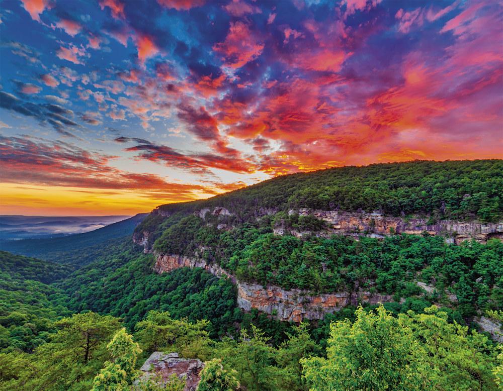 ACP 2020 Calendar Cloudland Canyon sunrise