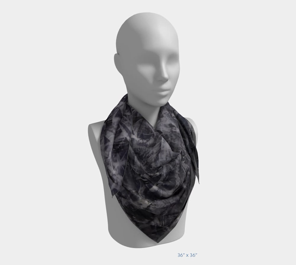 An Unordered Universe by Beth Shapiro 36x36 scarf