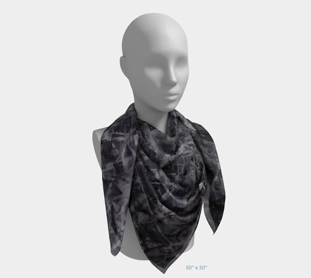 An Unordered Universe by Beth Shapiro 50x50 scarf