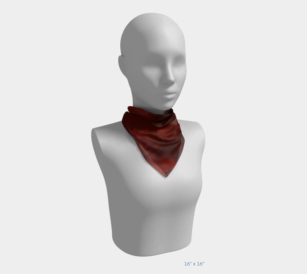 Edge in Flight by Beth Shapiro 16x16 scarf