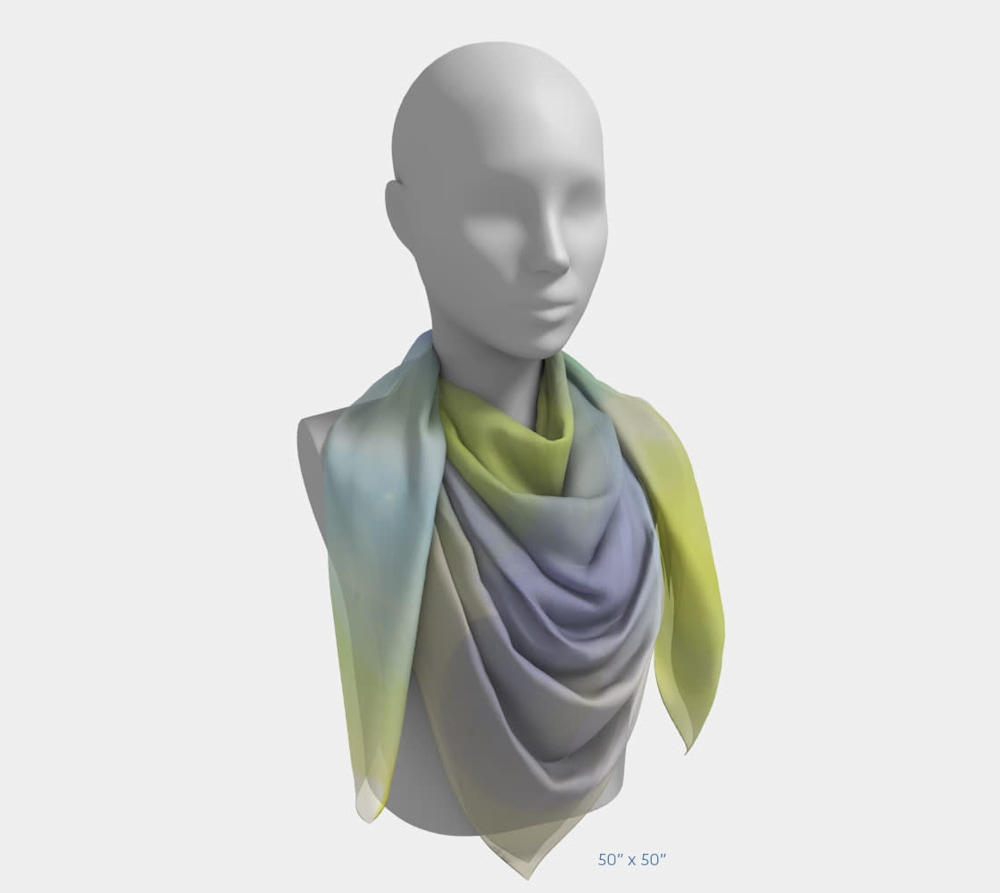 Joy by Beth Shapiro 50x50 scarf